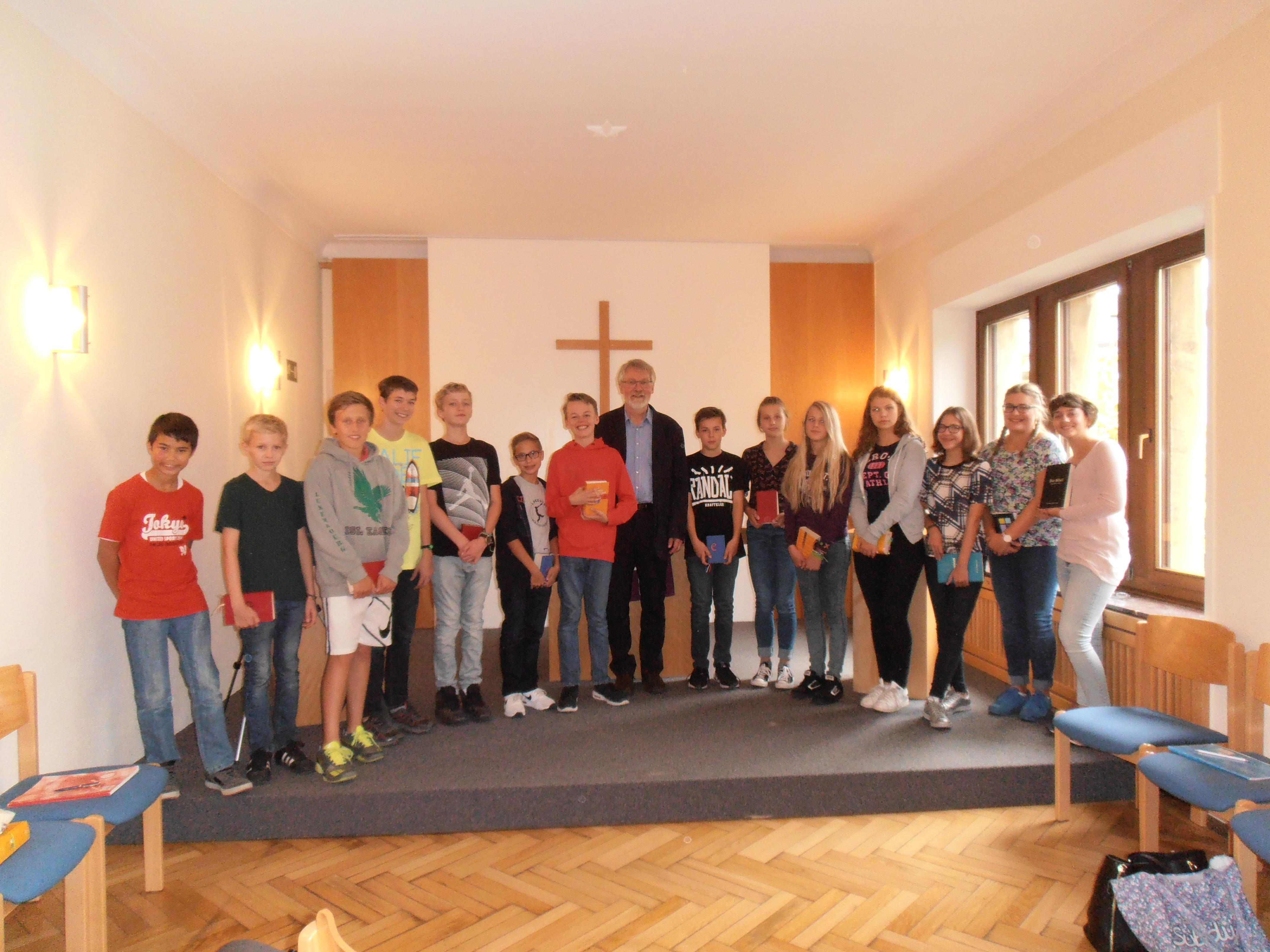 evangelische gemeinde kirche luxemburg deutsch | konfirmation